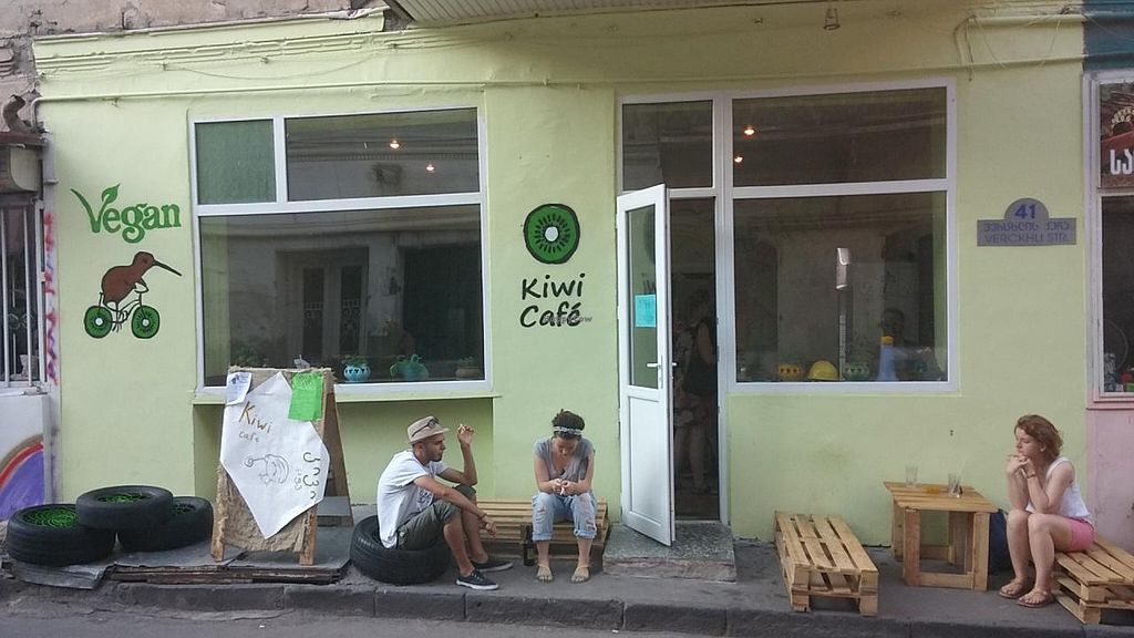 """Photo of Kiwi Vegan Cafe  by <a href=""""/members/profile/Rachel%20C"""">Rachel C</a> <br/>Kiwi Cafe Tbilisi <br/> July 23, 2015  - <a href='/contact/abuse/image/60107/110567'>Report</a>"""