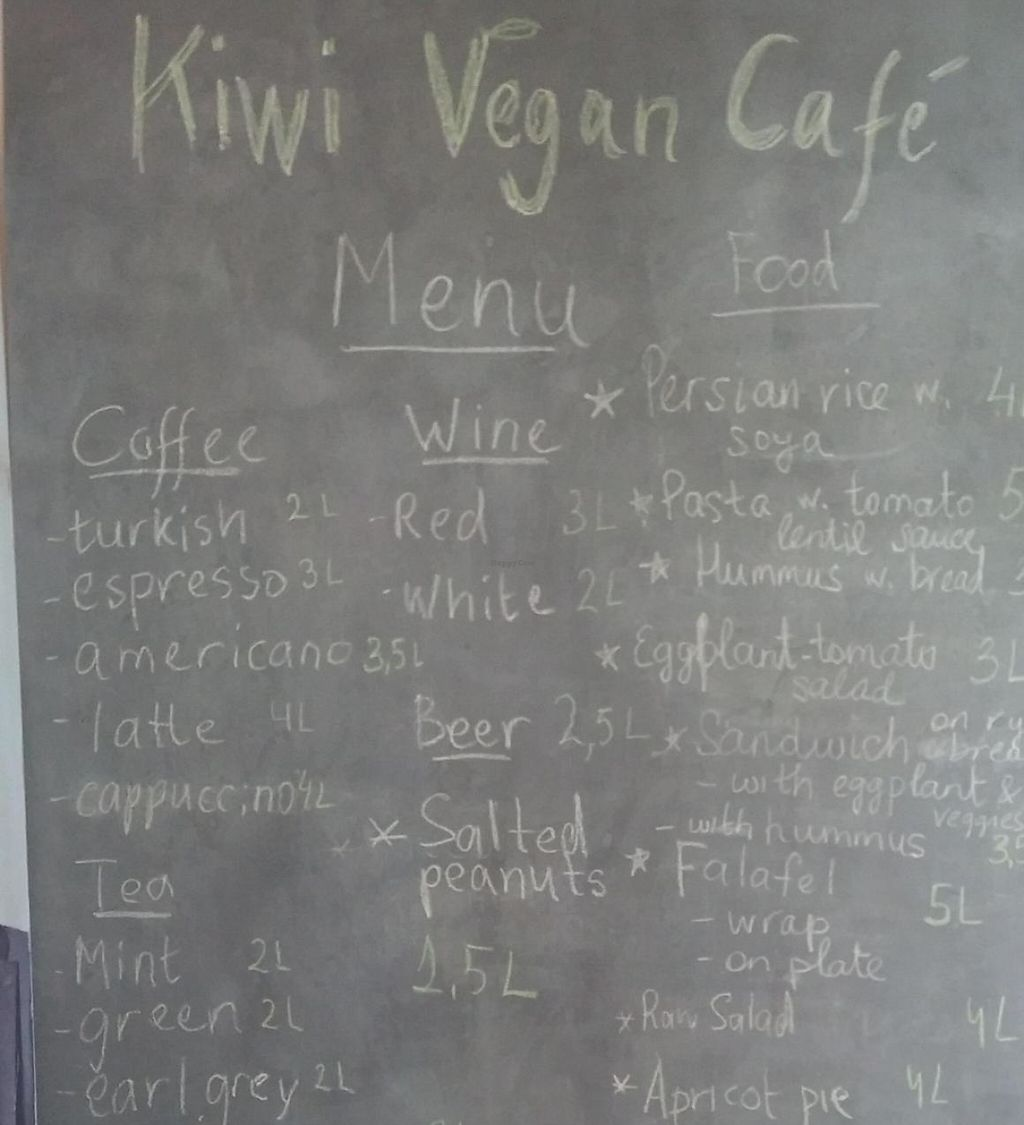 """Photo of Kiwi Vegan Cafe  by <a href=""""/members/profile/Rachel%20C"""">Rachel C</a> <br/>Kiwi Cafe Tbilisi <br/> July 23, 2015  - <a href='/contact/abuse/image/60107/237969'>Report</a>"""
