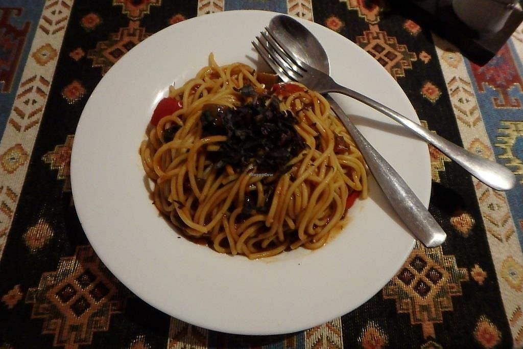 "Photo of Kiwi Vegan Cafe  by <a href=""/members/profile/sagar"">sagar</a> <br/>Sicilian Pasta <br/> September 22, 2017  - <a href='/contact/abuse/image/60107/307143'>Report</a>"