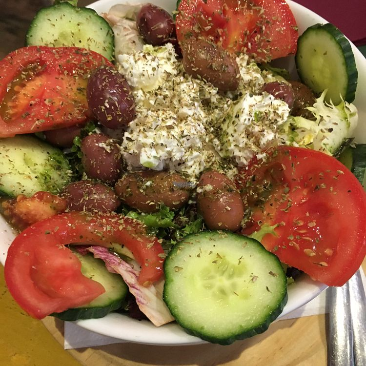 """Photo of Armonia  by <a href=""""/members/profile/Irynazh"""">Irynazh</a> <br/>Greek Salad <br/> October 8, 2016  - <a href='/contact/abuse/image/60120/180598'>Report</a>"""