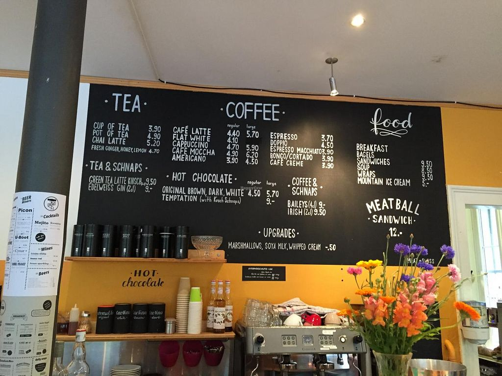 """Photo of Airtime Cafe  by <a href=""""/members/profile/Paolla"""">Paolla</a> <br/>Menu and counter <br/> July 12, 2015  - <a href='/contact/abuse/image/60182/109082'>Report</a>"""