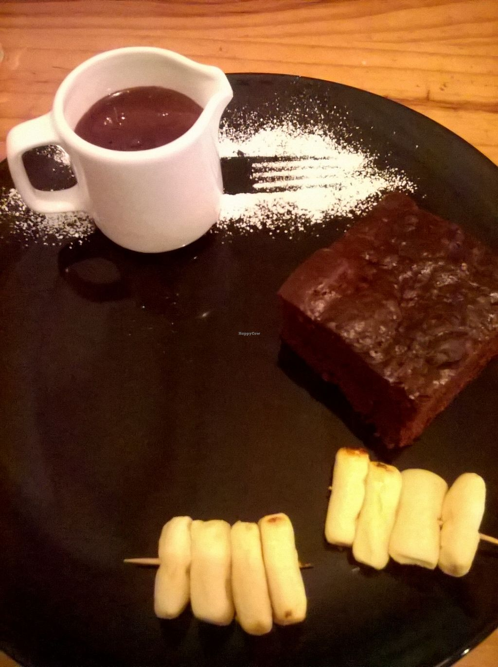 "Photo of The Bohemian  by <a href=""/members/profile/deadpledge"">deadpledge</a> <br/>Brownie and Hot Chocolate Sauce <br/> September 9, 2015  - <a href='/contact/abuse/image/60217/117068'>Report</a>"