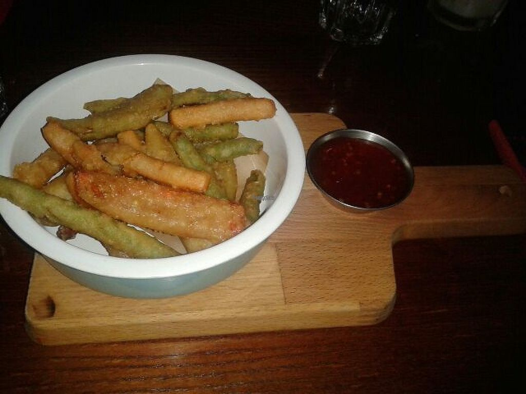 "Photo of The Bohemian  by <a href=""/members/profile/deadpledge"">deadpledge</a> <br/>Tempura vegetables with sweet chili dip <br/> December 20, 2016  - <a href='/contact/abuse/image/60217/203179'>Report</a>"
