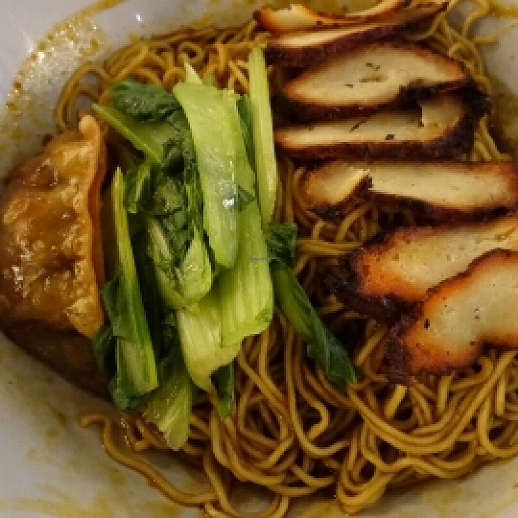 "Photo of CLOSED: Hai Cun De Vegetarian Stall  by <a href=""/members/profile/JimmySeah"">JimmySeah</a> <br/>Wanton noodle <br/> October 28, 2015  - <a href='/contact/abuse/image/60246/122958'>Report</a>"