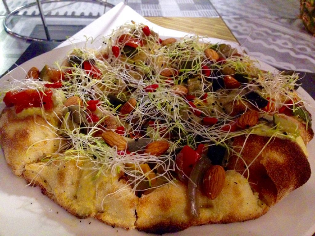 "Photo of Buddy Italian Restaurant Cafe  by <a href=""/members/profile/Jodinoe"">Jodinoe</a> <br/>Vegan 'Campagnola' pizza <br/> January 5, 2016  - <a href='/contact/abuse/image/60247/131183'>Report</a>"