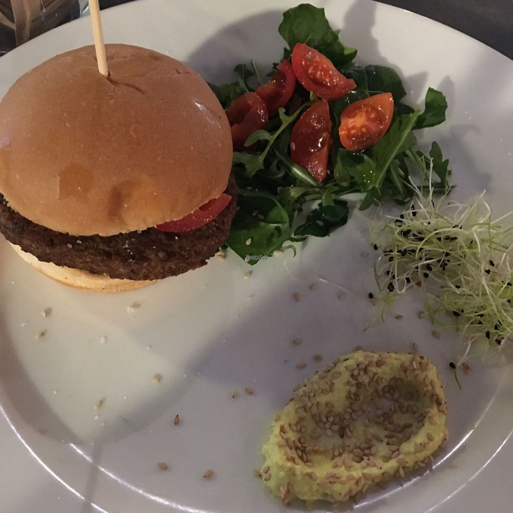 "Photo of Buddy Italian Restaurant Cafe  by <a href=""/members/profile/BaileyK668"">BaileyK668</a> <br/>delicious vegan burger! <br/> March 23, 2017  - <a href='/contact/abuse/image/60247/239974'>Report</a>"
