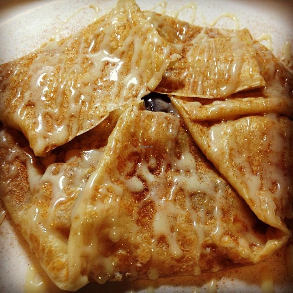 """Photo of The Elephant Room  by <a href=""""/members/profile/community"""">community</a> <br/>crepe with caramelized plantains <br/> July 14, 2015  - <a href='/contact/abuse/image/60268/109407'>Report</a>"""