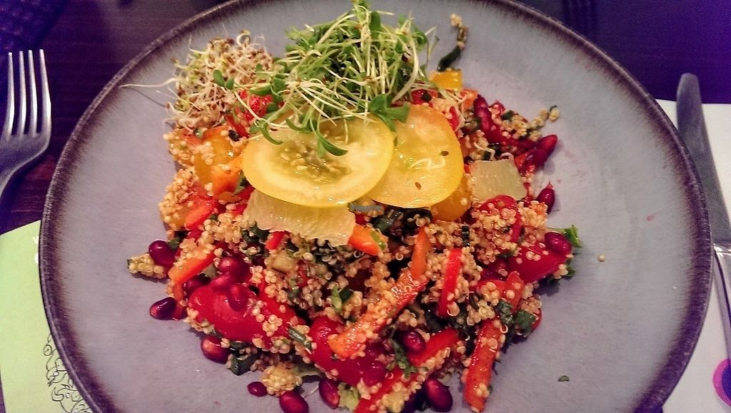 """Photo of Roots - Lintheschergasse  by <a href=""""/members/profile/sophiecow"""">sophiecow</a> <br/>Quinoa bowl <br/> February 5, 2017  - <a href='/contact/abuse/image/60269/222930'>Report</a>"""
