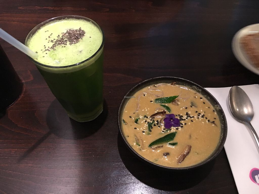 """Photo of Roots - Lintheschergasse  by <a href=""""/members/profile/berilikum14"""">berilikum14</a> <br/>coconut lemongrass soup with Shiitake  <br/> March 26, 2018  - <a href='/contact/abuse/image/60269/376580'>Report</a>"""