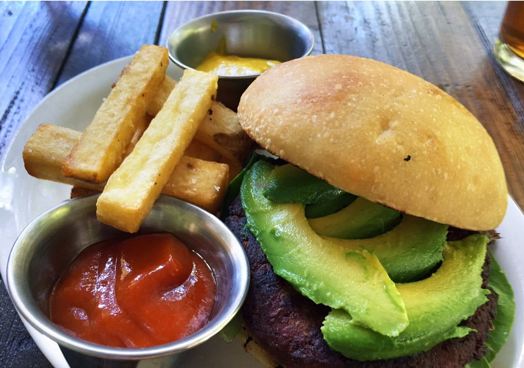 "Photo of Speakeasy  by <a href=""/members/profile/Forman"">Forman</a> <br/>veggie burger <br/> October 15, 2016  - <a href='/contact/abuse/image/60281/182276'>Report</a>"