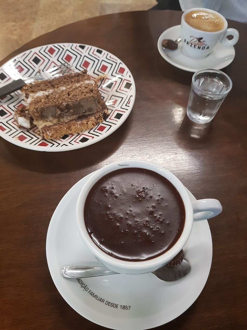 "Photo of Cantinho da Terra  by <a href=""/members/profile/TatianaSaito"">TatianaSaito</a> <br/>hot creamy chocolate and vegan cakes <br/> August 1, 2017  - <a href='/contact/abuse/image/60291/287708'>Report</a>"