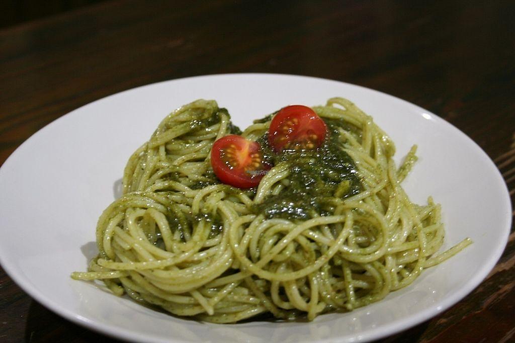 "Photo of Natura Gourmet  by <a href=""/members/profile/SariVegan"">SariVegan</a> <br/>Spaghetti al Pesto <br/> November 18, 2016  - <a href='/contact/abuse/image/60299/191676'>Report</a>"