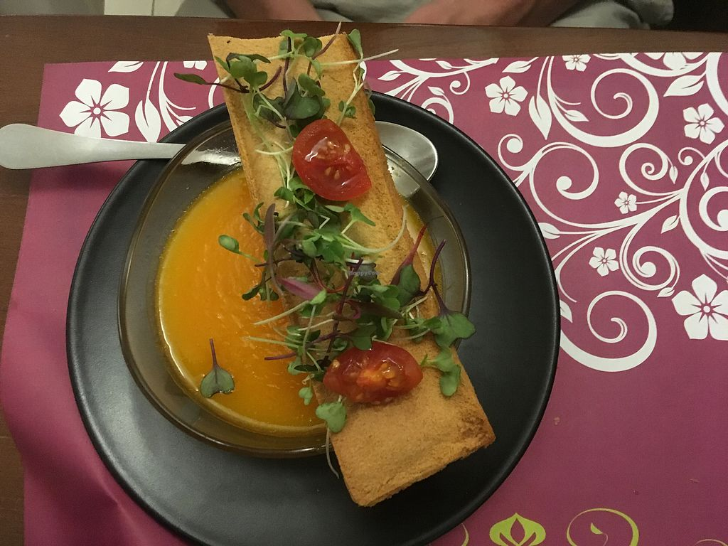 """Photo of Natura Gourmet  by <a href=""""/members/profile/Jimjam83"""">Jimjam83</a> <br/>Pumpkin soup <br/> November 9, 2017  - <a href='/contact/abuse/image/60299/323525'>Report</a>"""
