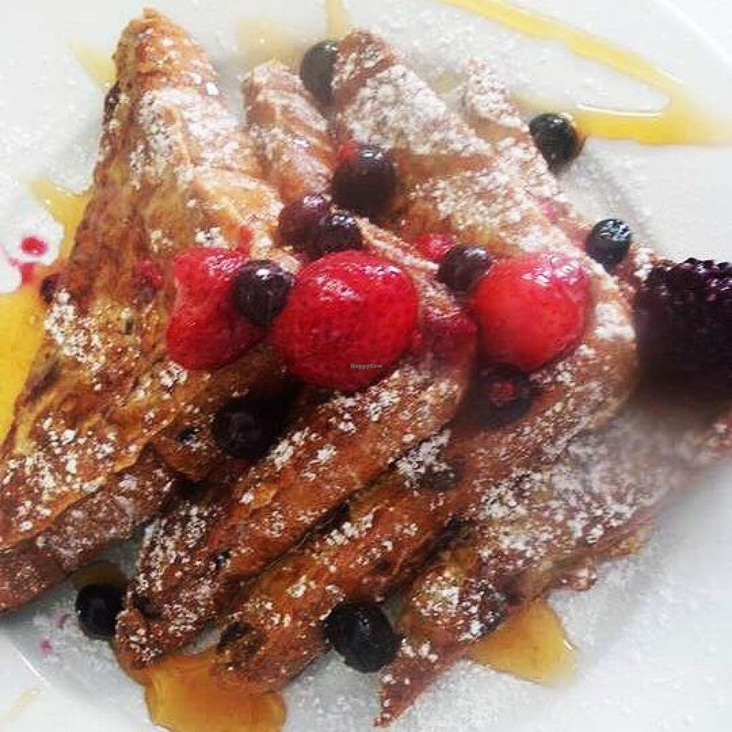 """Photo of Bean Tree Cafe  by <a href=""""/members/profile/community"""">community</a> <br/>fresh toast  <br/> July 14, 2015  - <a href='/contact/abuse/image/60305/109391'>Report</a>"""