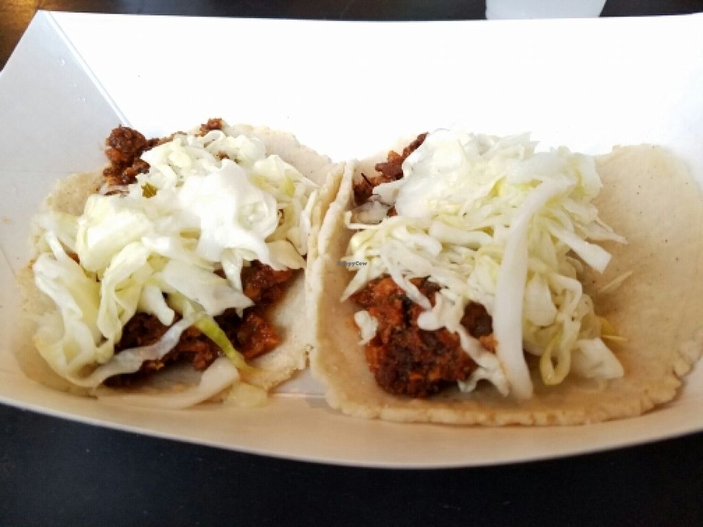 """Photo of Tacopocalypse  by <a href=""""/members/profile/EverydayTastiness"""">EverydayTastiness</a> <br/>vegan chorizo tacos <br/> April 7, 2016  - <a href='/contact/abuse/image/60322/143256'>Report</a>"""