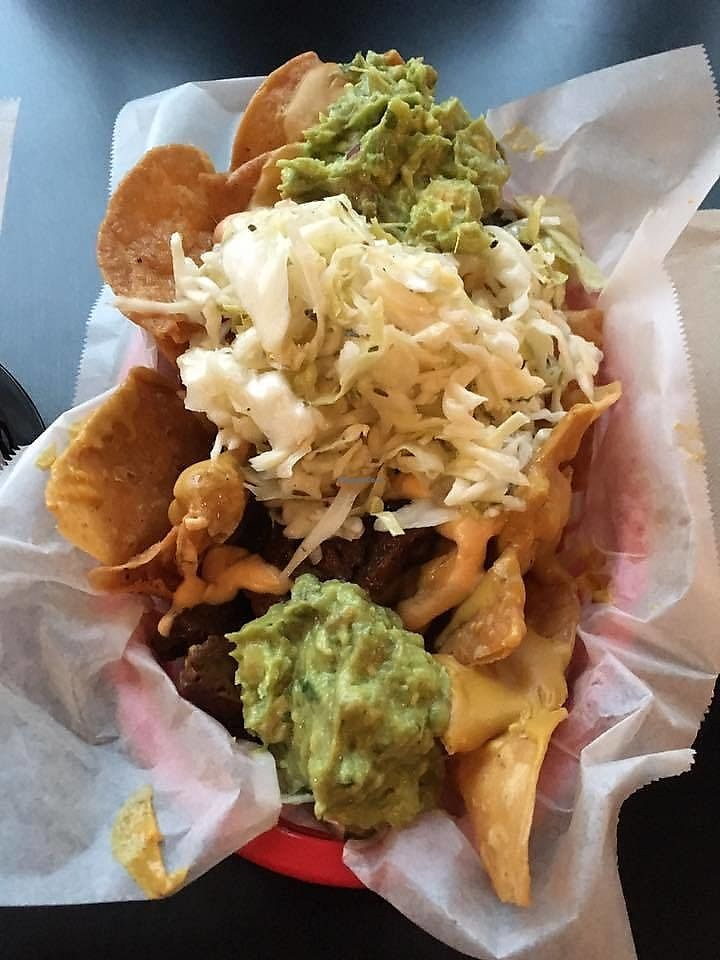 """Photo of Tacopocalypse  by <a href=""""/members/profile/shafess"""">shafess</a> <br/>Vegan Nachos <br/> June 19, 2017  - <a href='/contact/abuse/image/60322/271065'>Report</a>"""