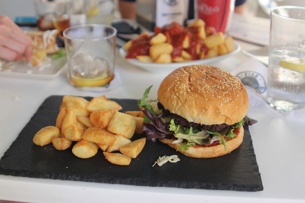 "Photo of Bella Ciao  by <a href=""/members/profile/hefafa"">hefafa</a> <br/>vegan burger <br/> July 26, 2017  - <a href='/contact/abuse/image/60331/284883'>Report</a>"