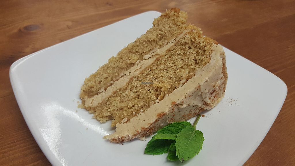 """Photo of Oh My Goodness  by <a href=""""/members/profile/VeganAnnaS"""">VeganAnnaS</a> <br/>Generous slice of delicious chai cake <br/> July 9, 2017  - <a href='/contact/abuse/image/60339/278239'>Report</a>"""
