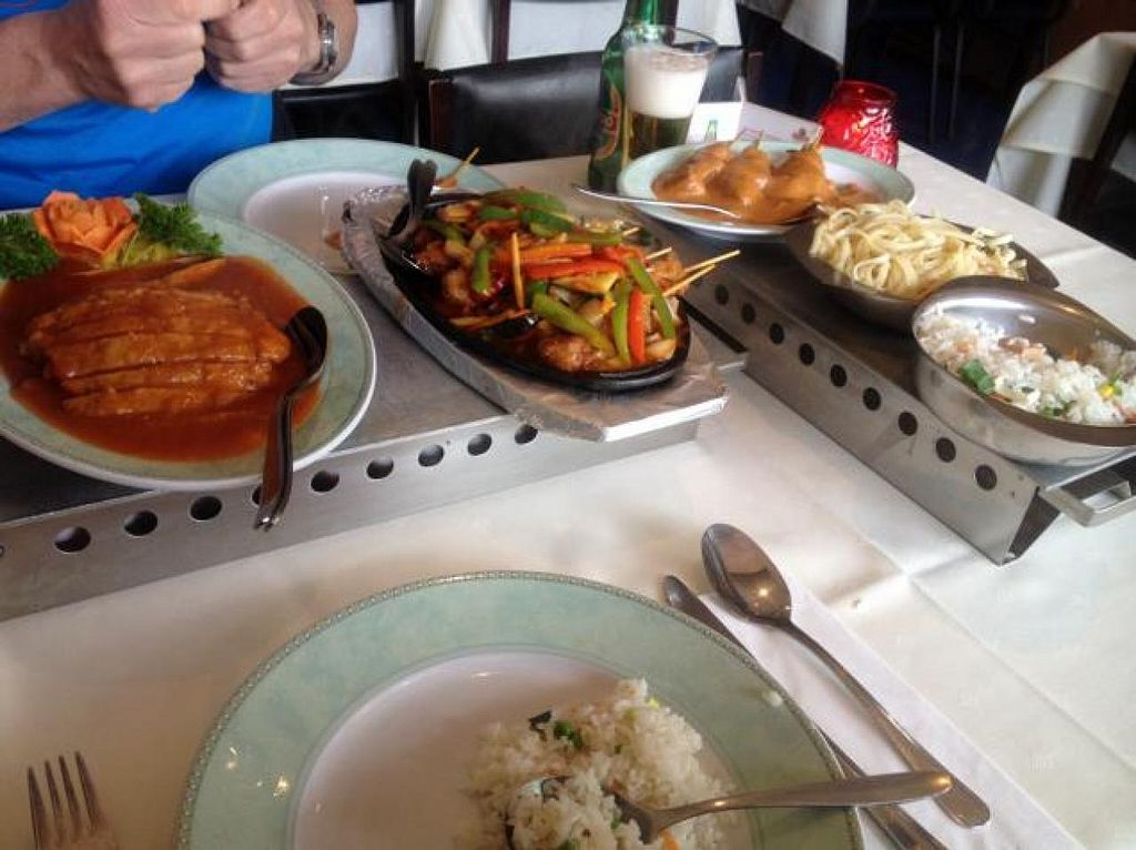 """Photo of De Oude Plek  by <a href=""""/members/profile/Marianne1967"""">Marianne1967</a> <br/>our described main dishes <br/> June 1, 2014  - <a href='/contact/abuse/image/6034/71191'>Report</a>"""