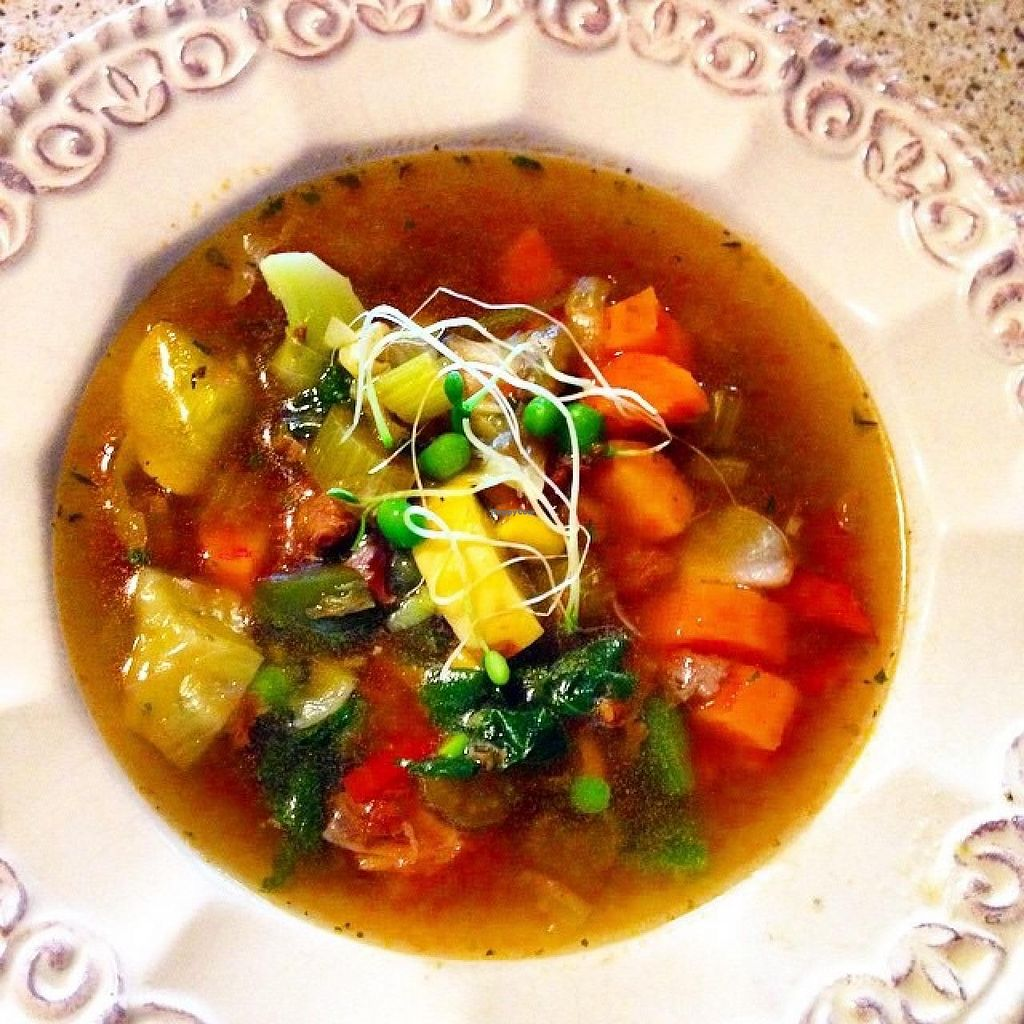 """Photo of CLOSED: Real Food  by <a href=""""/members/profile/Brian%20Flanagan"""">Brian Flanagan</a> <br/>Daily homemade soups, organic non GMO <br/> July 8, 2015  - <a href='/contact/abuse/image/60372/108618'>Report</a>"""