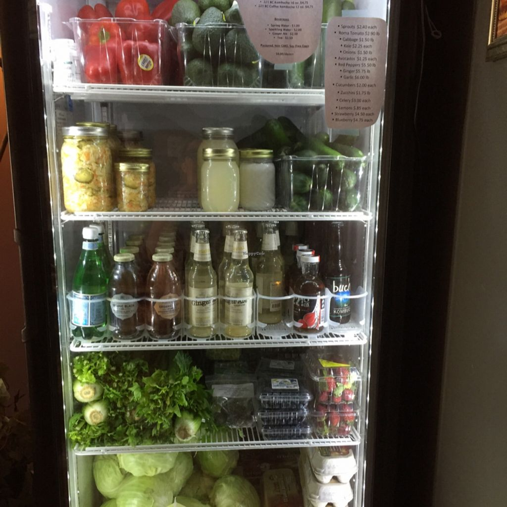 """Photo of CLOSED: Real Food  by <a href=""""/members/profile/clovely.vegan"""">clovely.vegan</a> <br/>refrigerated foods for sale.  <br/> March 18, 2016  - <a href='/contact/abuse/image/60372/140427'>Report</a>"""