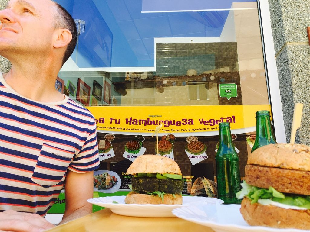 """Photo of D.Sanchez Fresh Food  by <a href=""""/members/profile/Jack%20Karswell"""">Jack Karswell</a> <br/>Whopping vegan burgers! <br/> August 23, 2015  - <a href='/contact/abuse/image/60375/114789'>Report</a>"""