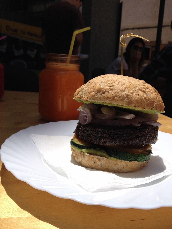 "Photo of D.Sanchez Fresh Food  by <a href=""/members/profile/veni_vidi_vegan"">veni_vidi_vegan</a> <br/>Quinoa burger!!! So tastyyyyy <br/> January 11, 2016  - <a href='/contact/abuse/image/60375/132052'>Report</a>"