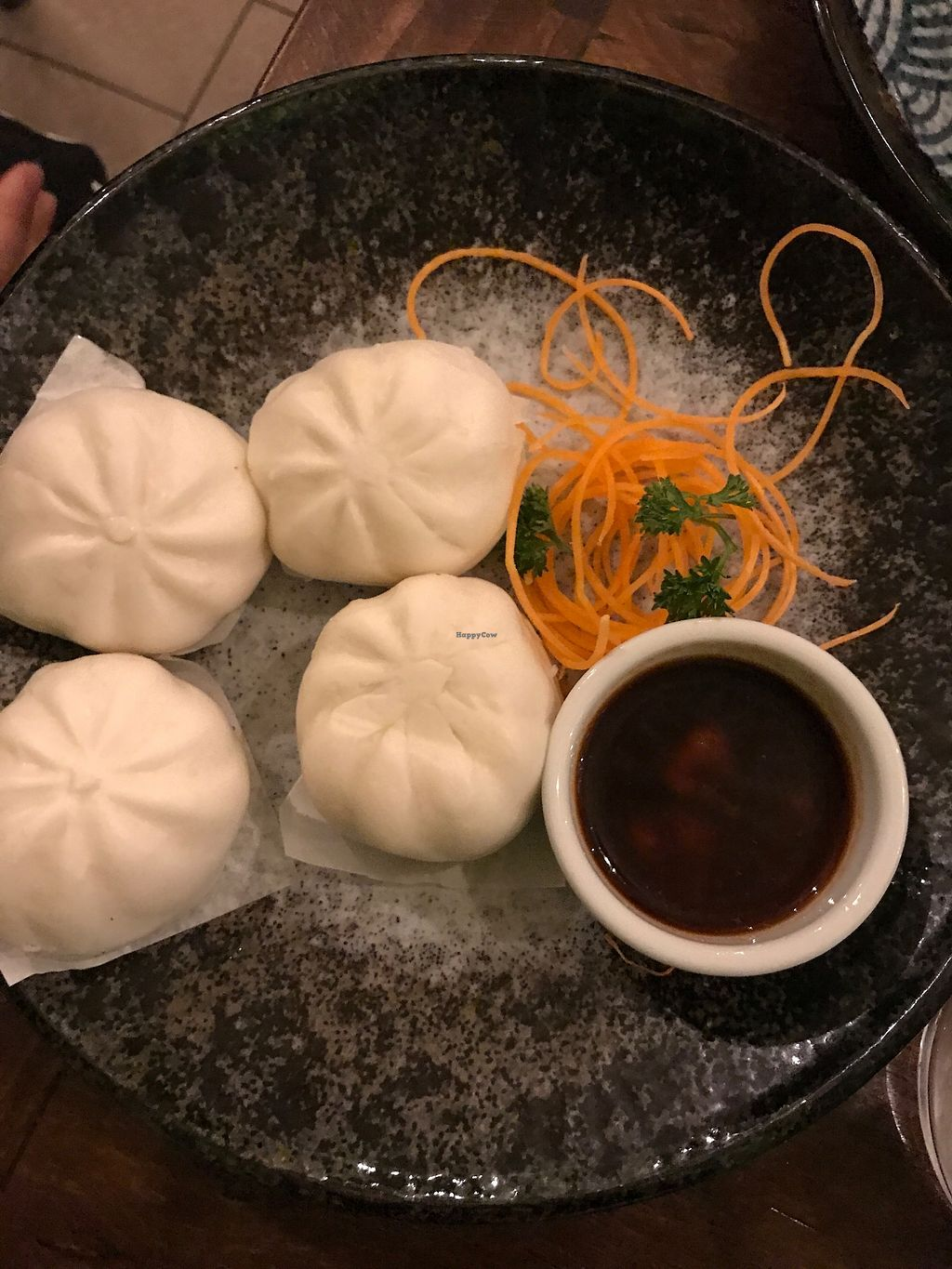 """Photo of Golden Lotus Vegan  by <a href=""""/members/profile/AmandaAttard"""">AmandaAttard</a> <br/>Steamed Dumplings <br/> July 14, 2017  - <a href='/contact/abuse/image/60395/280074'>Report</a>"""
