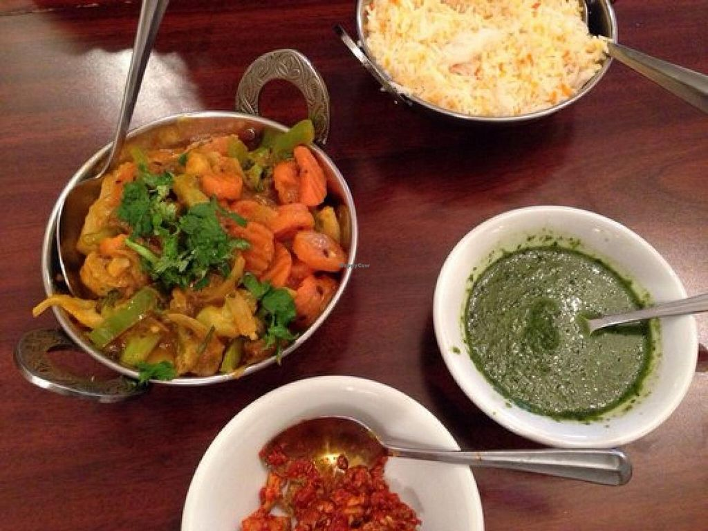 """Photo of Taj Tandoor  by <a href=""""/members/profile/effinloaves"""">effinloaves</a> <br/>Delicious mixed vegetable korma!  <br/> July 14, 2015  - <a href='/contact/abuse/image/60431/109330'>Report</a>"""