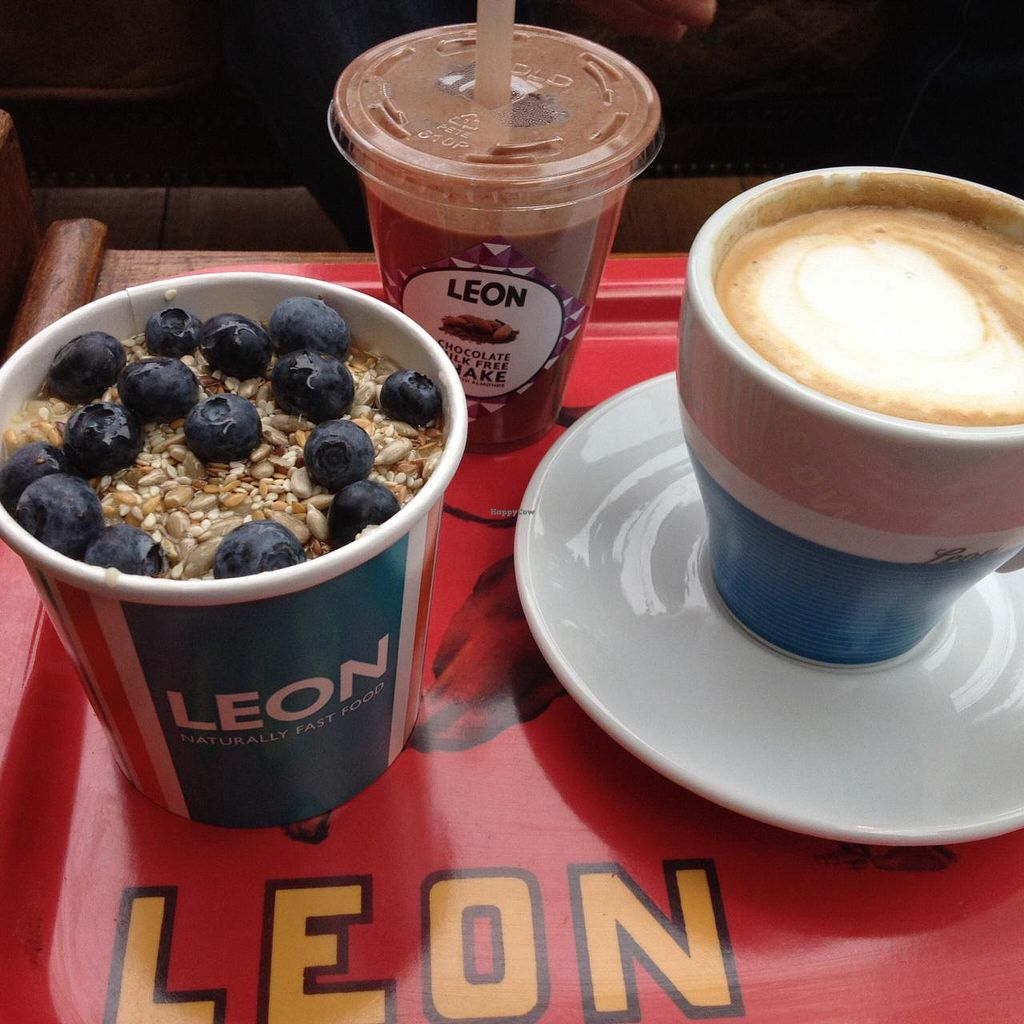 "Photo of LEON - Bankside  by <a href=""/members/profile/tdrw"">tdrw</a> <br/>Vegan Breakfast Options <br/> July 11, 2015  - <a href='/contact/abuse/image/60436/108852'>Report</a>"
