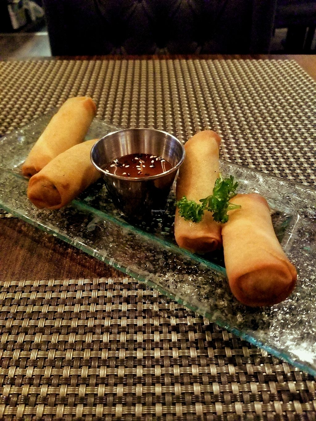 """Photo of Table Thai Bar & Bistro  by <a href=""""/members/profile/KatrinaNabong"""">KatrinaNabong</a> <br/>Crispy Veggie Roll <br/> February 17, 2018  - <a href='/contact/abuse/image/60456/360234'>Report</a>"""