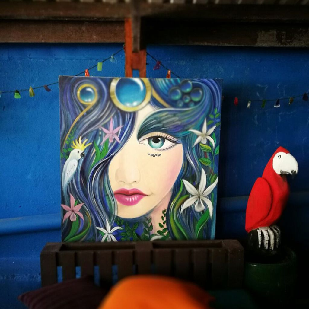 """Photo of Green Room Cafe  by <a href=""""/members/profile/Zombiecynthia"""">Zombiecynthia</a> <br/>beautiful artwork on the outside patio  <br/> March 16, 2017  - <a href='/contact/abuse/image/60459/236940'>Report</a>"""