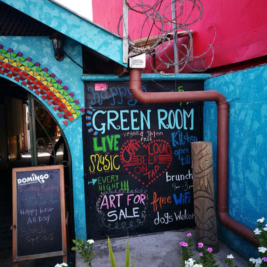 """Photo of Green Room Cafe  by <a href=""""/members/profile/Zombiecynthia"""">Zombiecynthia</a> <br/>Main Street Entrance  <br/> March 16, 2017  - <a href='/contact/abuse/image/60459/236942'>Report</a>"""