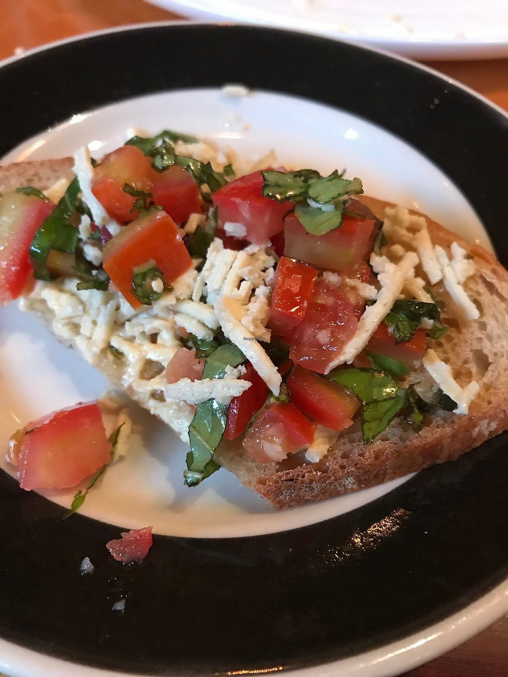 """Photo of Fitness Grill  by <a href=""""/members/profile/sjberrest"""">sjberrest</a> <br/>Vegan Bruschetta  <br/> July 1, 2017  - <a href='/contact/abuse/image/60466/275424'>Report</a>"""