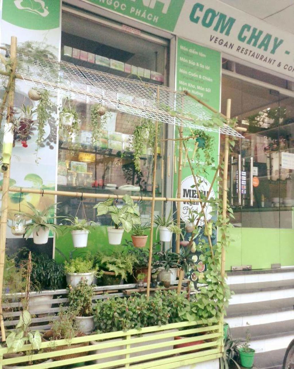"""Photo of Hieu Sinh Vegetarian Restaurant  by <a href=""""/members/profile/nicolasroux"""">nicolasroux</a> <br/>lil garden  <br/> March 29, 2017  - <a href='/contact/abuse/image/60469/242343'>Report</a>"""