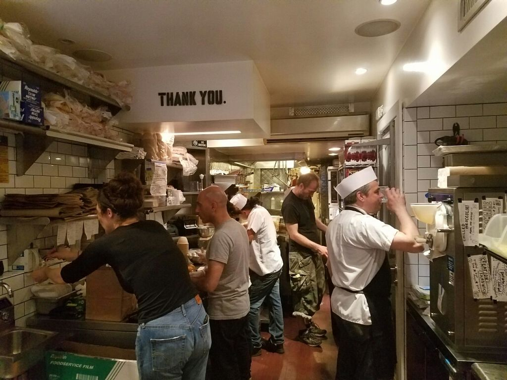 """Photo of Superiority Burger  by <a href=""""/members/profile/kenvegan"""">kenvegan</a> <br/>the kitchen <br/> June 28, 2016  - <a href='/contact/abuse/image/60473/156492'>Report</a>"""