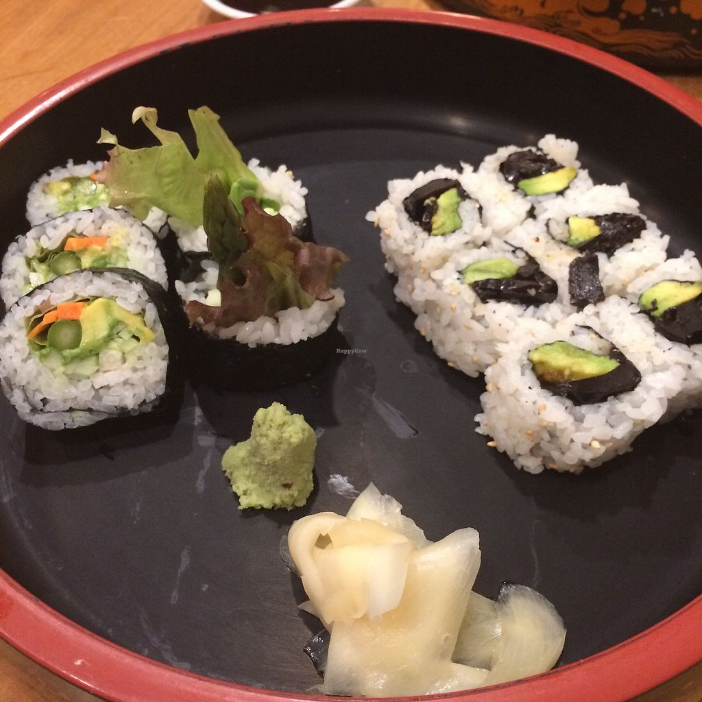 """Photo of Yosaku  by <a href=""""/members/profile/skl411"""">skl411</a> <br/>Veggie sushi <br/> September 13, 2017  - <a href='/contact/abuse/image/6047/304088'>Report</a>"""