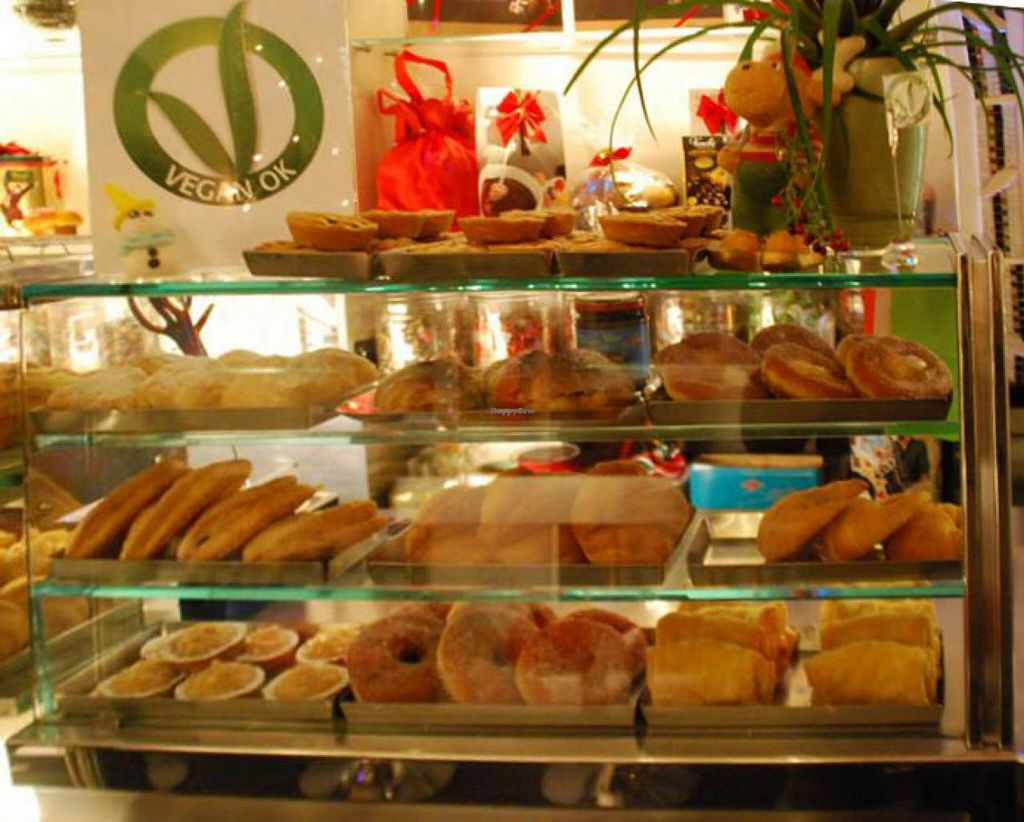 """Photo of Pasticceria Gualtieri  by <a href=""""/members/profile/veg-geko"""">veg-geko</a> <br/>Vegan pastries <br/> July 11, 2015  - <a href='/contact/abuse/image/60482/108933'>Report</a>"""