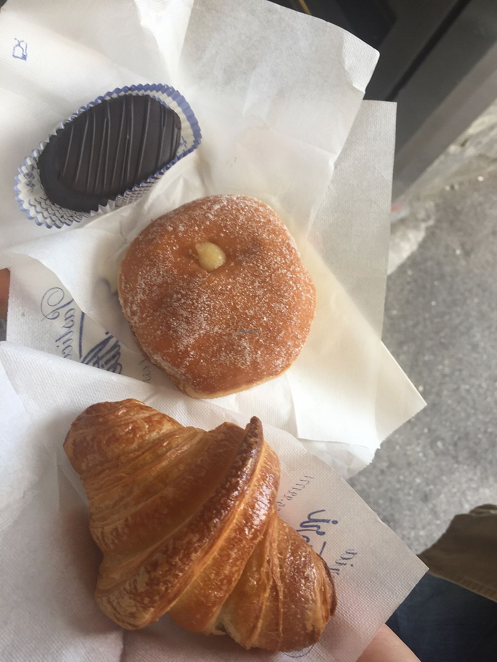 """Photo of Pasticceria Gualtieri  by <a href=""""/members/profile/comahony"""">comahony</a> <br/>Chocolate, cream filled pastry, croissant! All excellent! <br/> September 13, 2017  - <a href='/contact/abuse/image/60482/303927'>Report</a>"""