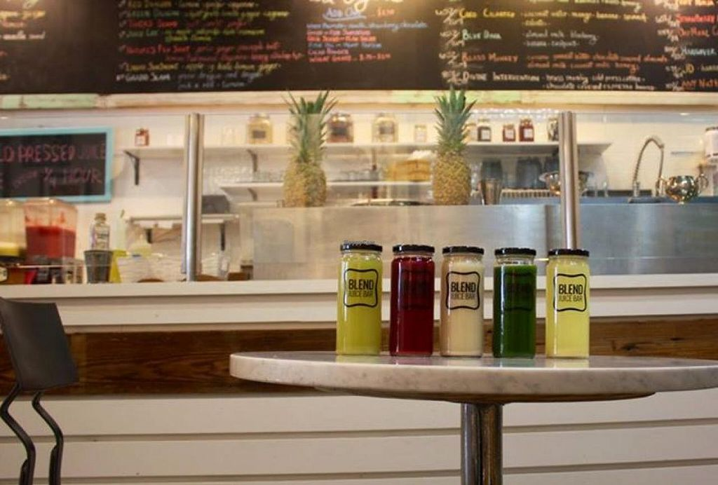 """Photo of Blend Juice Bar  by <a href=""""/members/profile/community"""">community</a> <br/>Blend Juice Bar <br/> July 21, 2015  - <a href='/contact/abuse/image/60500/110366'>Report</a>"""