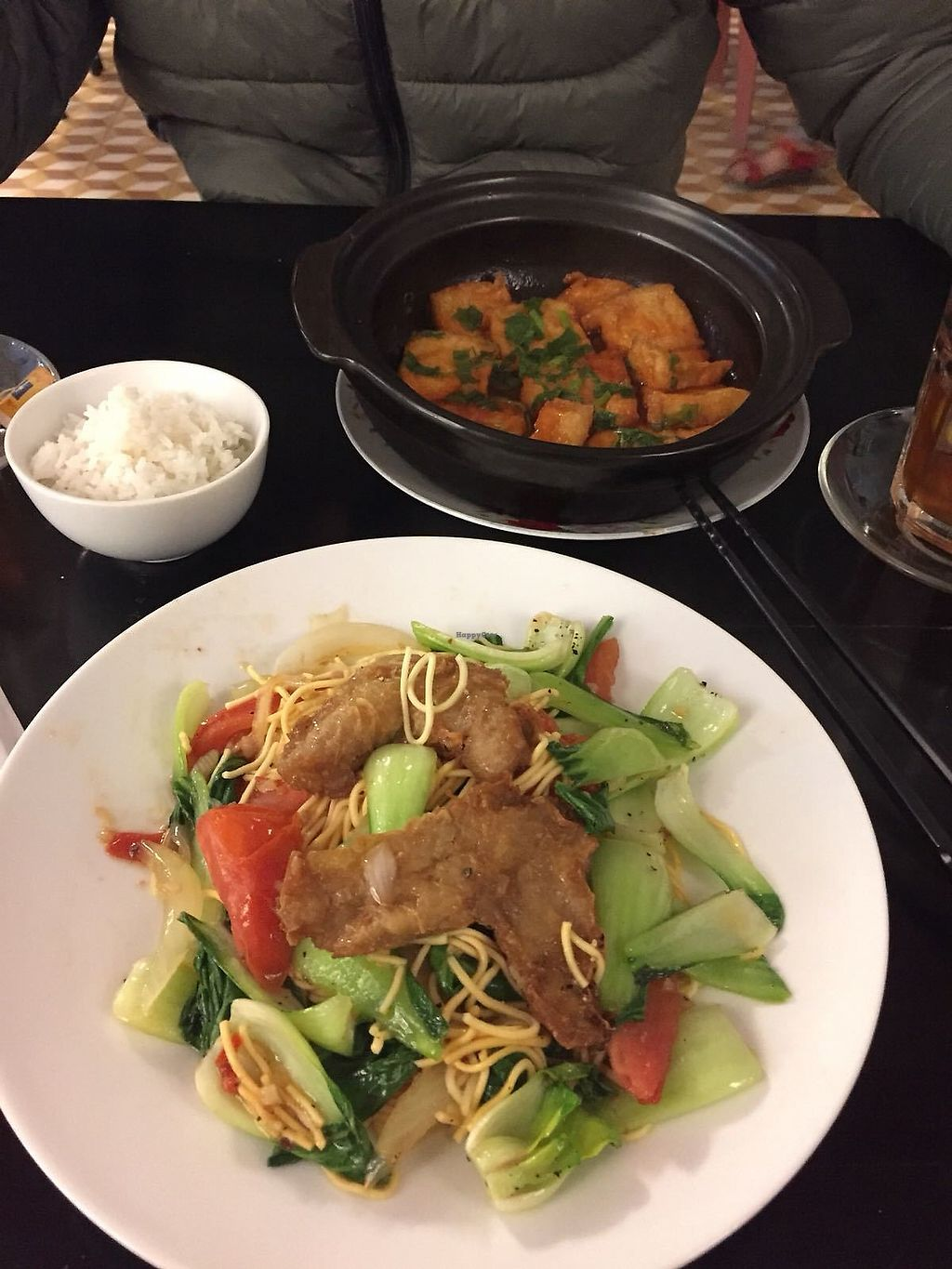 """Photo of Red Chilli  by <a href=""""/members/profile/Saniauskas"""">Saniauskas</a> <br/>Vegan fried Chicken with noodles & stewed tofu in claypot <br/> January 11, 2018  - <a href='/contact/abuse/image/60528/345508'>Report</a>"""