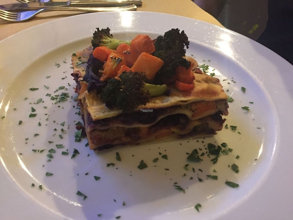 """Photo of CamBio Logico  by <a href=""""/members/profile/LiaTraballero"""">LiaTraballero</a> <br/>Homemade lasagna with seasonal vegetables <br/> January 19, 2017  - <a href='/contact/abuse/image/60572/213270'>Report</a>"""