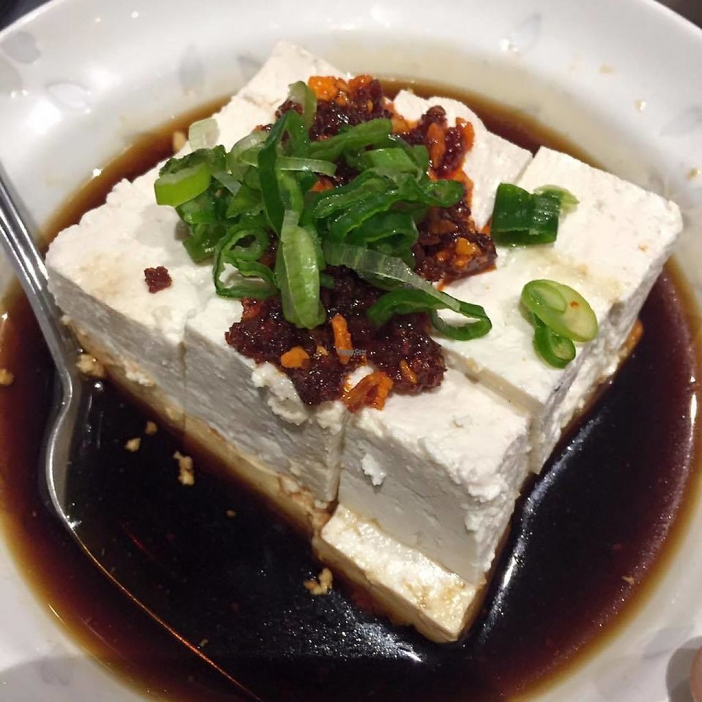 """Photo of Bushido  by <a href=""""/members/profile/community"""">community</a> <br/>Chili garlic tofu; cold tofu with chili oil <br/> February 17, 2017  - <a href='/contact/abuse/image/60591/227309'>Report</a>"""