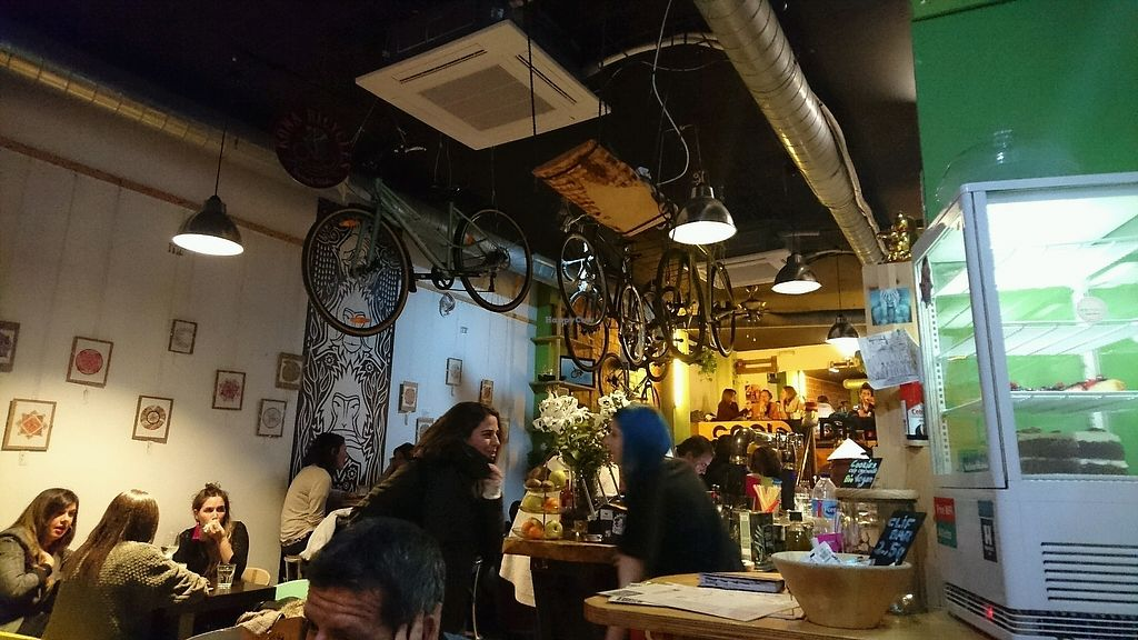 "Photo of Recyclo Bike Cafe  by <a href=""/members/profile/vliegertje"">vliegertje</a> <br/>the bar <br/> March 20, 2018  - <a href='/contact/abuse/image/60629/373420'>Report</a>"