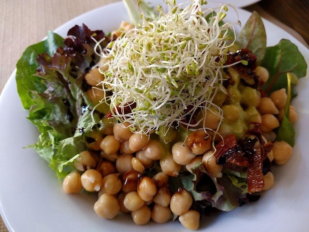 "Photo of Vegetalia - Born  by <a href=""/members/profile/steveveg"">steveveg</a> <br/>Chickpea salad <br/> January 23, 2017  - <a href='/contact/abuse/image/60646/215490'>Report</a>"