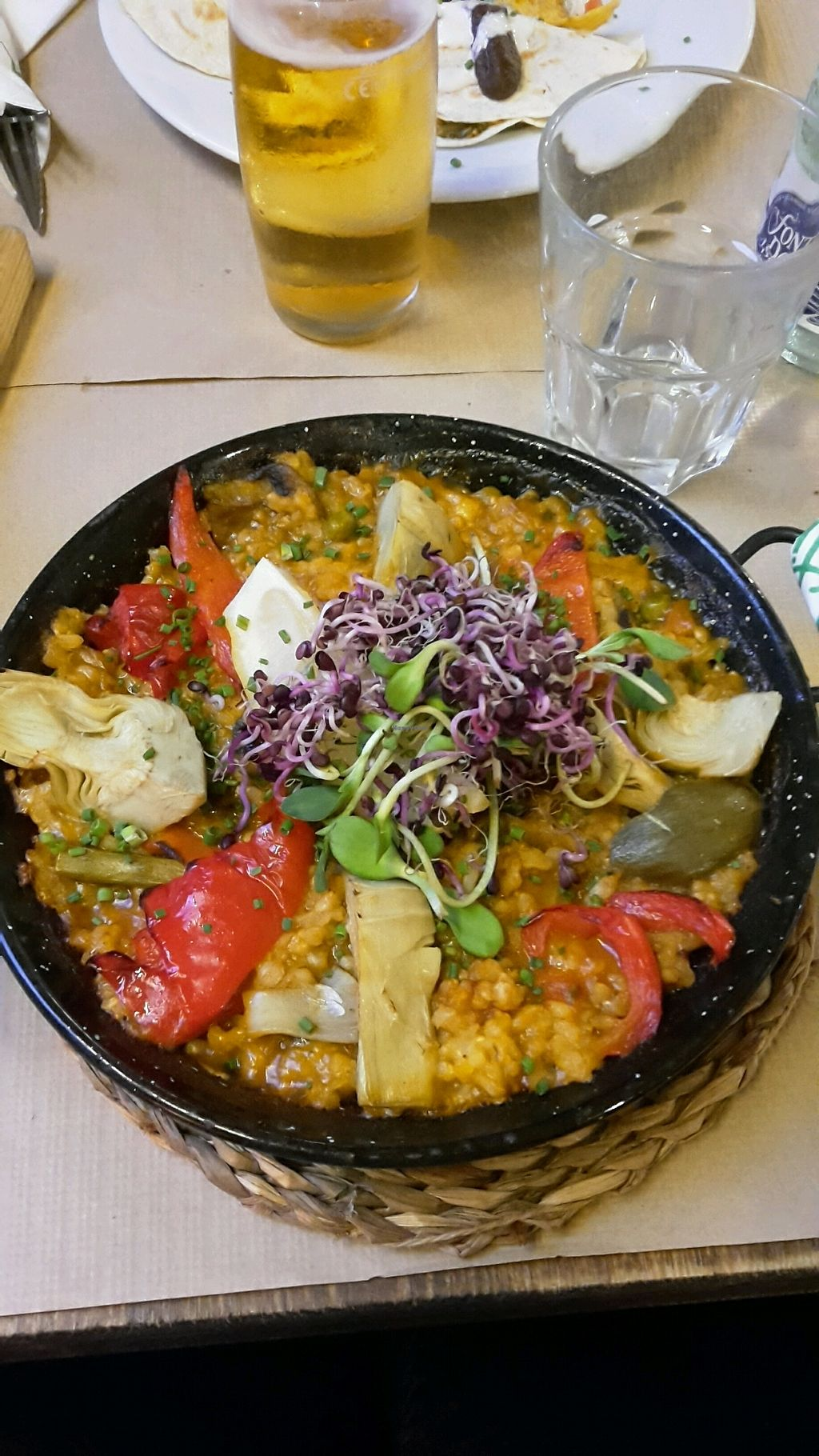 """Photo of Vegetalia - Born  by <a href=""""/members/profile/Little_Travaller"""">Little_Travaller</a> <br/>vegan Paella <br/> September 22, 2017  - <a href='/contact/abuse/image/60646/307104'>Report</a>"""