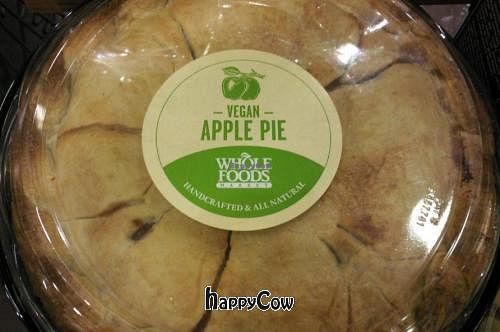 """Photo of Whole Foods Market  by <a href=""""/members/profile/happycowgirl"""">happycowgirl</a> <br/>vegan apple pie <br/> October 28, 2012  - <a href='/contact/abuse/image/6064/39542'>Report</a>"""