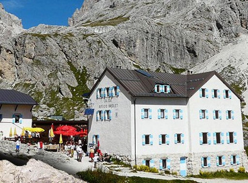 "Photo of Rifugio Vajolet  by <a href=""/members/profile/community"">community</a> <br/>Rifugio Vajolet <br/> July 15, 2015  - <a href='/contact/abuse/image/60655/109505'>Report</a>"