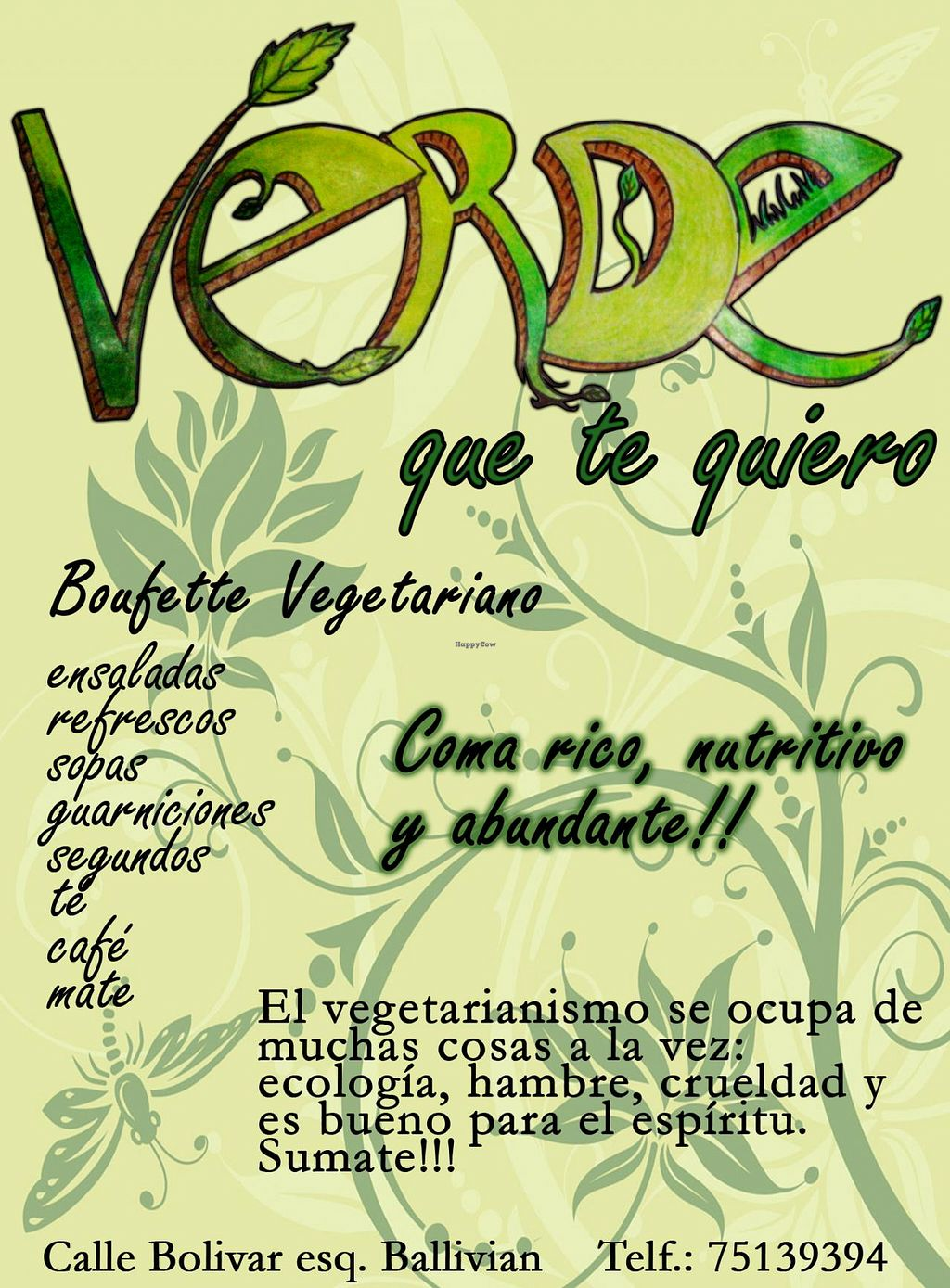 """Photo of Verde que te Quiero  by <a href=""""/members/profile/Fabs"""">Fabs</a> <br/>This is their logo.  <br/> July 16, 2015  - <a href='/contact/abuse/image/60657/109549'>Report</a>"""