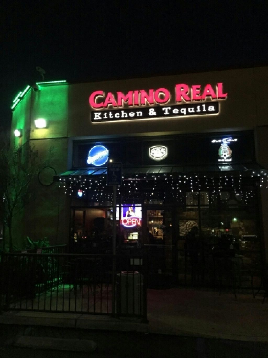 """Photo of Camino Real Kitchen and Tequila  by <a href=""""/members/profile/catbone"""">catbone</a> <br/>Storefront, El Camino Real Kitchen &  Tequila  <br/> February 15, 2016  - <a href='/contact/abuse/image/60663/136448'>Report</a>"""